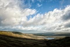 Cloudy skies (HonleyA) Tags: moor skies skyscape buckstones ricohgr2 gr2 yorkshire