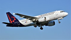 OO-SSU (AnDyMHoLdEn) Tags: brusselsairlines a319 lufthansagroup staralliance egcc airport manchester manchesterairport 23l
