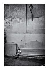 L'attente ! (bertranddorel) Tags: bw blackandwhite bnw bn biancoenero blancetnoir contrast city ciutad d750 day europe france face graphisme graphique grey geometrique gens human homme humain holidays house light lumière life lignes lampadaire mono monochrome man monocromo maison mur noiretblanc nikon nb nikkor ngc noir nero negro ombres people personne rue ruelle street streetphoto shadows town travel terrasse urban urbain urbano urbanwalls ville vie wb waiting wall seul solitude cof095red cof095anne cof095lens cof095vpya cof095dmnq cof095chri cof095plum