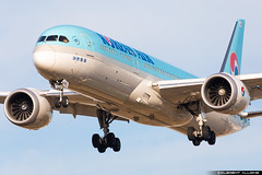 Korean Air Lines Boeing 787-9 Dreamliner cn 34812 / 575 HL8083 (Clément Alloing - CAphotography) Tags: korean air lines boeing 7879 dreamliner cn 34812 575 hl8083 barcelona airport barcelone lebl bcn canon 100400 spotting aeropuerto airplane aircraft 25r 07l balcon t1 flight airways aeroplane engine sky ground take off landing 5d mark iv
