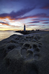 This place has been shot to death 💀 (Omnitrigger) Tags: outside skull clouds pink color california santacruz waltonlighthouse lighthouse walton sunrise