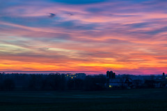 Strasburg Sunset (3) (tquist24) Tags: hdr lancastercounty nikon nikond5300 outdoor pennsylvania saudersburg strasburg clouds colorful evening farm geotagged landscape light lights longexposure outside rural sky skyscape sunset