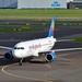 Small Planet Airlines GmbH D-ABDB Airbus A320-214 cn/2619 lsd fr Air Berlin 10 May 2016 - 18 Oct 2017 wfu &  std at BUD 18-10-2017 - 15-10-2018 reg D-ASMR Sundair 15 Oct 2018 @ EHAM / AMS 09-09-2017