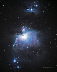 M42 Nebula reprocessed a little more color and detail (Frank Guyton) Tags: m42 nebula orion
