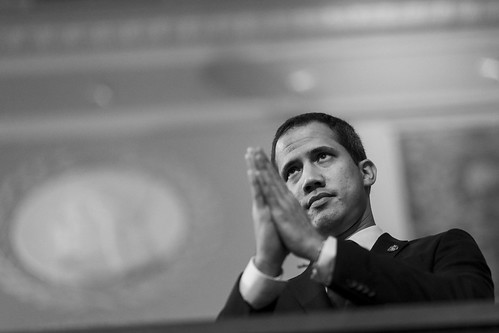 Juan Guaido receives ovation at State of the Union 2020, From FlickrPhotos