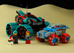 Febrovery 2020 Day 5 (TFDesigns!) Tags: lego space rover febrovery kepler van allen fuel