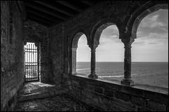 Three Arches (GColoPhotographer) Tags: bw bianconero liguria gate architecture blackandwhite pillar arch