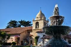 Carmel Mission Basilica (davidjnear) Tags: carmel mission basilica monterey california fountain junipero serra nikon d3400 photography