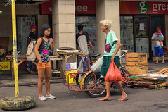 Confrontation? (Beegee49) Tags: street people women girl filipina happyplanet sony shopping nex5n bacolod city philippines asia