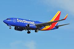 N480WN (Rich Snyder--Jetarazzi Photography) Tags: southwestairlines southwest swa wn boeing 737 737700 7377h4 b737 b73g n480wn landing arrival sanjoseinternationalairport sjc ksjc sanjose california ca airplane airliner aircraft jet plane jetliner
