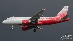 TLV - Rossiya Airbus A319 VQ-BOX (Eyal Zarrad) Tags: a319 llbg rossiya telaviv vqbox