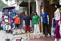 Hello (klauslang99) Tags: klauslang streetphotography person store mannequin front display phone panajachel guatemala