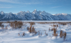 Snow Waves (laura's Point of View) Tags: snow cold winter mountains tetons rockymountains nature landscape gtnp grandtetonnationalpark nationalpark findyourpark jacksonhole wyoming lauraspointofview lauraspov seasons beautiful unitedstates west western sagebrush sky peaceful bestcapturesaoi elitegalleryaoi aoi
