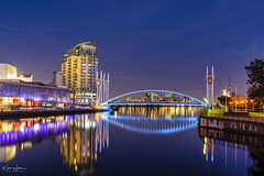 The Blue Bridge (Kev Walker ¦ Thank You 4 Comments n Faves) Tags: architecture building city england manchester mediacity panoramic river salfordquays sunset water bbc blue bridge britain british broadcasting buildings canal centre cityscape commercial dock dusk english footbridge kingdom landmark lowry media mediacitymanchester mediacitysalford mediacityuk millenniumbridge modern modernarchitecture night north quay quays quayside radio reflection reflectioninwater salford shipcanal skyline skyscraper studios travel tv uk urban