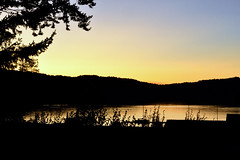 A Poet's cove sunset (South Pender Island, BC)  -  (Selected by GETTY IMAGES)