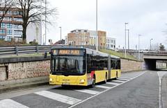 A 610244 E (brossel 8260) Tags: belgique bus tec prives brabant wallon pullman
