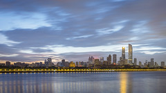 Cantonese, come on! (kevinho86) Tags: eos6d canon colour canton city cityscapes landmark lightshadow longexposures reflection pearlrivernewtown 珠江新城 feelings 建築 城市 天空 空 guangzhou landscape scenery scape downtown twilight art wideangle citylights water 天際線 simple architecture 35mm 169