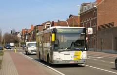 4878 232 (brossel 8260) Tags: belgique bus delijn brabant