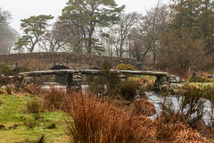 Old and older bridges at Postbridge on Dartmoor