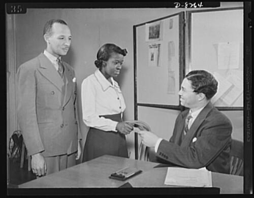 Graduation from NYA training center: 1942 ca.