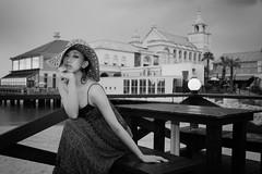 Summer Portrait (HarQ Photography) Tags: monochrome blackandwhite sony a900 35mmf14g portrait hakata japan bestportraitsaoi