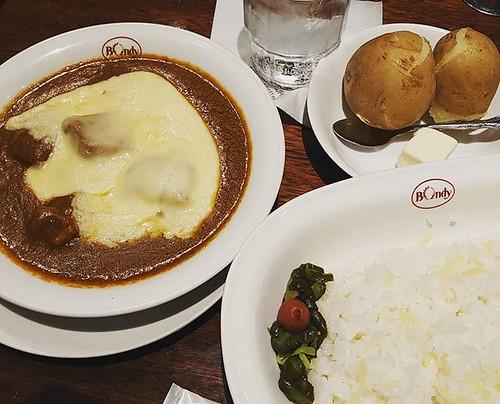 今日のランチ #ボンディ #欧風カレー #bondy #curry