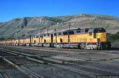 Short Term Storage (jamesbelmont) Tags: locomotive railway railroad train southyard utah saltlakecity shorttermstorage emd dd35 dd35a unionpacific
