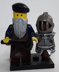 CORNEC THE ARMOURER (krisdecatte) Tags: lego custom minifigurines medieval crafts