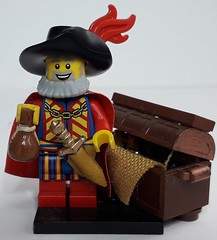 WILLIAM THE MERCHANT (krisdecatte) Tags: lego custom minifigurines medieval crafts