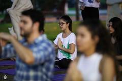CRÉDITO - DA FOTO (ARES SOARES) - 29 (uniforcomunica) Tags: projeto florescer meditação pinturas universidade de fortaleza campus relaxamento ares soares area verde campo