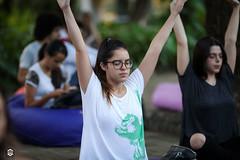 CRÉDITO - DA FOTO (ARES SOARES) - 15 (uniforcomunica) Tags: projeto florescer meditação pinturas universidade de fortaleza campus relaxamento ares soares area verde campo