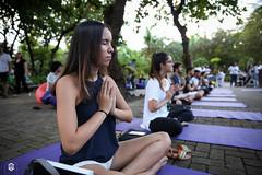 CRÉDITO - DA FOTO (ARES SOARES) - 12 (uniforcomunica) Tags: projeto florescer meditação pinturas universidade de fortaleza campus relaxamento ares soares area verde campo
