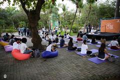 CRÉDITO - DA FOTO (ARES SOARES) - 11 (uniforcomunica) Tags: projeto florescer meditação pinturas universidade de fortaleza campus relaxamento ares soares area verde campo