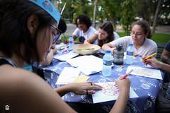 CRÉDITO - DA FOTO (ARES SOARES) - 5 (uniforcomunica) Tags: projeto florescer meditação pinturas universidade de fortaleza campus relaxamento ares soares area verde campo