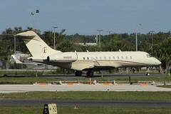 BD700 Global Express N605VF (c/n 9152) (Gavin Livsey) Tags: kfll globalexpress bd700 n605vf