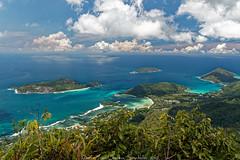 View from the Morne Blanc (sabathius80) Tags: blanc morne sea island seychelles iles mer water eau vegetation végétation clouds forest nuages forêt canon eos mark ii 7d is usm efs hoya 3556 1585mm filter polarisant