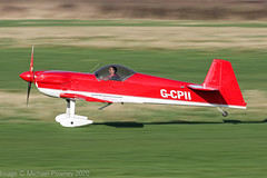 G-CPII - 1988 build Avions Mudry CAP-231, arriving on Runway 26R at Barton (egcc) Tags: 07 aerobatic avionsmudry bakhtiari barton capaviation cap231 cnabj cityairport deihh egcb fgshh fwqol gcpii lightroom manchester