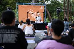 CRÉDITO - DA FOTO (ARES SOARES) - 10 (uniforcomunica) Tags: projeto florescer meditação pinturas universidade de fortaleza campus relaxamento ares soares area verde campo