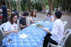 CRÉDITO - DA FOTO (ARES SOARES) - 1 (uniforcomunica) Tags: projeto florescer meditação pinturas universidade de fortaleza campus relaxamento ares soares area verde campo