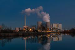 Kraftwerk Westfalen (vipfoto) Tags: kraftwerk nachtaufnahme hammwestfalen leicacl