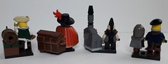 CRAFTS & PROFESSIONS (krisdecatte) Tags: lego custom minifigurines medieval crafts