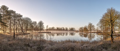 Onverwacht koude zonsopkomst (Pieter ( PPoot )) Tags: vorst zonsopkomst nevel ven dwingelderveld