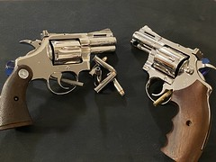 Colt Pythons - Nickel Plated