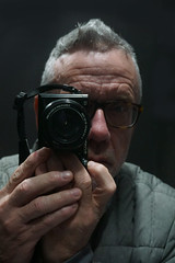 Self with SONY ILCE-6000 (jlp771) Tags: selfie autoportrait sony ilce6000 a6000 camera face