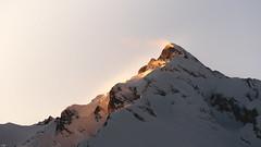 Windy (leoskar) Tags: landscapes sunlight summit light mountain alps valais wallis switzerland snow winter