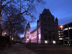 Natural History Museum London (Simon_sees) Tags: london naturalhistorymuseum dusk evening museum building
