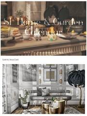 Home & Garden Calendar - January 2020 (Jessa ♥) Tags: secondlife sl second life decor virtual interior design 3d photo photography fancy
