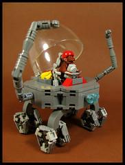 The Ook Ook Rover (Karf Oohlu) Tags: lego moc febrovery monkey rover scifi weirdwheels