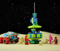 Febrovery 2020 Day 6 (TFDesigns!) Tags: lego rover space kepler van alien febrovery information