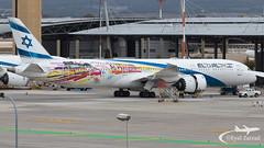 "TLV - El Al Boeing 787-9 4X-EDD ""Las Vegas/San Francisco"" Livery (Eyal Zarrad) Tags: 4xedd b789 elal llbg telaviv"